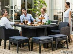 Садовая мебель Columbia Dining Set 9 Pcs Allibert, Keter