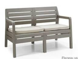 Садовая мебель Delano 2 Seater Bench Allibert, Keter