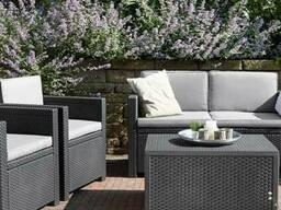 Садовая мебель Monaco Set With Storage Table Allibert, Keter - фото 3