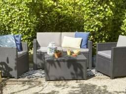 Садовая мебель Monaco Set With Storage Table Allibert, Keter - фото 6