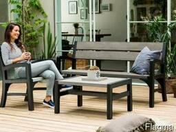 Садовая мебель Montero Triple Seat Bench Allibert, Keter