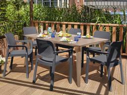 Садовая мебель Samanna Lima Dining Set Allibert, Keter - фото 2