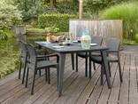 Садовая мебель Samanna Lima Dining Set Allibert, Keter - фото 6