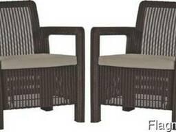 Садовая мебель Tarifa 2x Chairs Allibert, Keter - фото 4