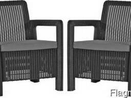 Садовая мебель Tarifa 2x Chairs Allibert, Keter - фото 5
