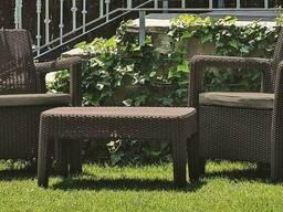 Садовая мебель Tarifa 2x Chairs Allibert, Keter - фото 6