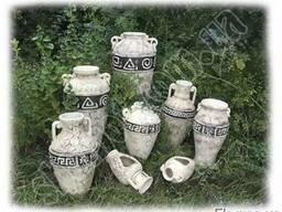 Садовая шамотная керамика