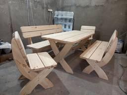 Садовый комплект, мебель для бани