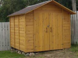 Садовые домики для инвентаря, бытовки, сарай, дровник