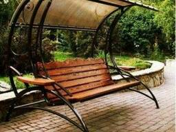Садовые качели и кресла-шезлонги