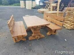Садовые лавки, столы. Мебель для сада