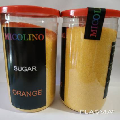 Сахарная вата цветная со вкусами