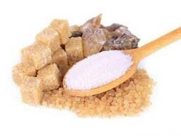 Сахар тростниковый кусковой, рафинад или песок