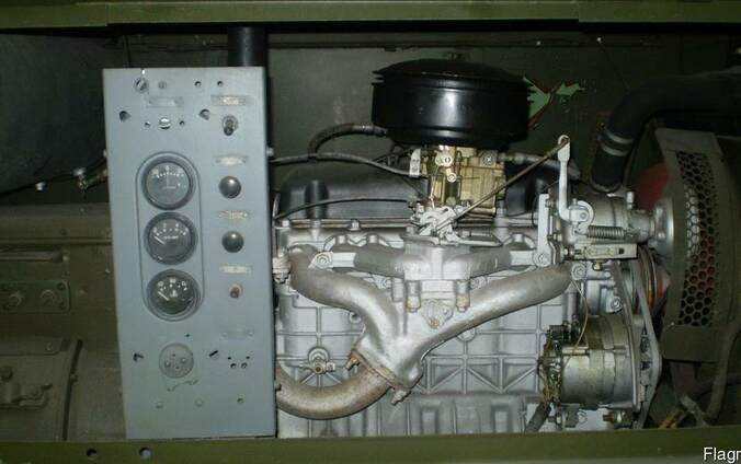 САК сварочный агрегат:двигатель ГАЗ-24