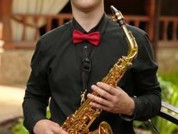 Саксофонист на свадьбу, корпоратив, день рождения, фуршет.