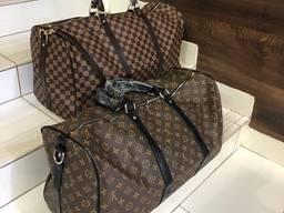 Саквояж дорожная сумка Louis Vuitton Луи Витон большая