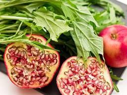 Салат мизуна (красная и зелёная)