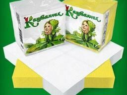 Салфетка Каштан 75 шт в упаковке