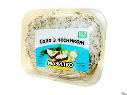 """Сало з часником ТМ """"Мазилко"""""""