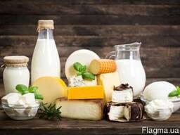 Самоклеящаяся этикетка для молочной продукции