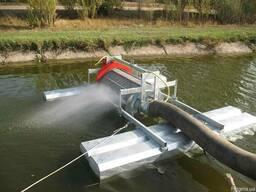 Самопромывной плавающий фильтр Dy-250