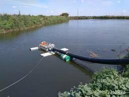 Самопромывной плавающий фильтр с обратными клапанами Dy-250