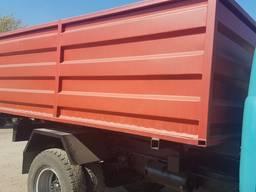 Самосвальный кузов зерновоз. Кузов зерновоза.