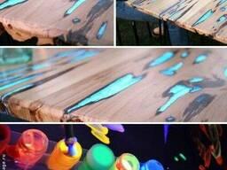 Самосветящаяся краска для дерева