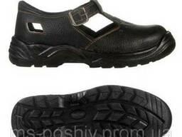 Кожаные сандалии для рабочих