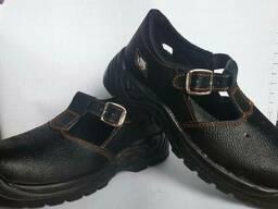 Сандалии рабочие кожаные. Рабочая обувь