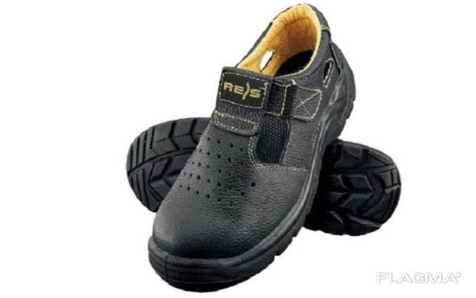 Сандали рабочие REIS (RAW-POL) Польша. Кожа. Рабочая обувь.