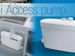 Saniaccess pump насос-измельчитель бытовой