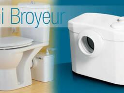 SaniBroyeur насос - установка для оборудования туалетной ком