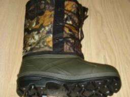 Сапоги ЭВА охотник. Сапоги ПВХ. Рабочая мужская обувь