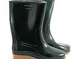 Сапоги резиновые, рабочая обувь