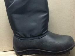 Сапоги утепленные женские, обувь рабочая зима
