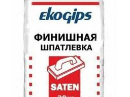 Сатенгипс Экогипс (30 кг) - шпаклевка гипсовая финишная