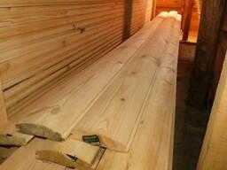 Сайдинг деревянный Блок хаус Фальш брус Сосна пиломатериалы