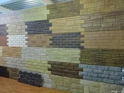 Сайдинг виниловый, фасадные панели, софит