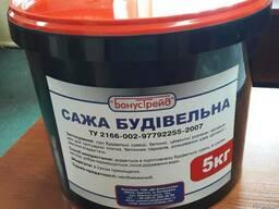 Сажа строительная (ведро 5 кг)