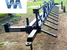 Сцепка зубовых борон СЗБ-10У, длина 10 метров для тракторов