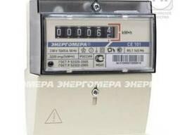 Счетчик электроэнергии 1 фазный 60А Энергомера CE101 R5. 1