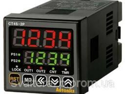 Счетчик Импульсов/Таймер ДВЕ Уставки CT4S-2P2 (24VDC)
