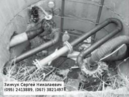 Узел учета сточных вод напорной канализации КНС