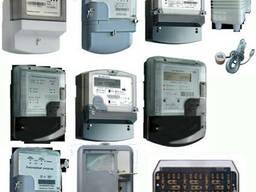 Счетчики электроэнергии, шкафы учета, корпуса распред.