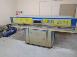 Станок вакуумный пресс для монтажа пленки накладок МДФ на изделие МВП-2512 Деревообработка