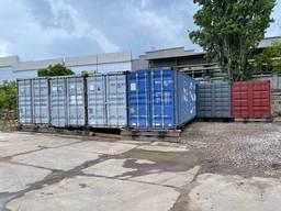 Сдам контейнера под СКЛАД / Хранение на мельницкой. 45 футов, 80 м3