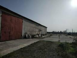 Сдам склад производство СТО 1150 м2. участок 2 Га. 160 кВт. Иванков.