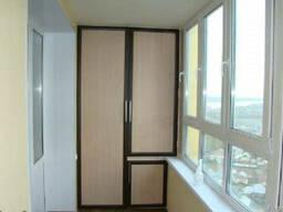 Сделать шкаф на балконе