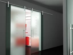 Сдвижные стеклянные двери от производителя